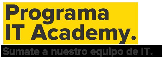 Programa IT Academy